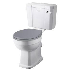 Bayswater Fitzroy Comfort Height Close Coupled Toilet with Lever Cistern (excluding Seat) BAY1023