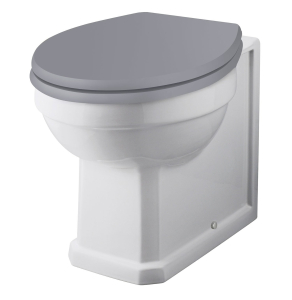 Bayswater Fitzroy Back to Wall Toilet Pan White BAY1004