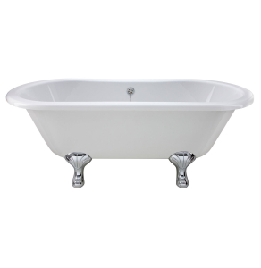 Bayswater Leinster Double Ended Freestanding Bath 1490mm x 745mm BAY1056