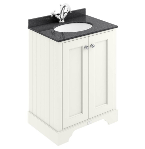 Bayswater Pointing White 2-Door Vanity Unit 600mm Wide (excluding Basin) BAY1035