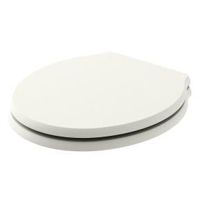Bayswater Porchester Soft Close Toilet Seat Pointing White BAY1227