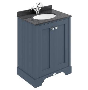 Bayswater Stiffkey Blue 2-Door Vanity Unit 600mm Wide (excluding Basin) BAY1029