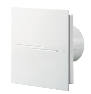 Blauberg Calm Design Low Noise Energy Efficient Bathroom Extractor Fan White 100mm Standard BLA10029