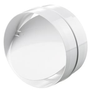 "Blauberg Round Circular Inline Ventilation Duct Back Draught Shutter - 100mm 4"" BLA10105"