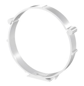 "Blauberg Round Circular Plastic Ventilation Duct Pipe Mounting Bracket Clamp - 100mm 4"" BLA10096"