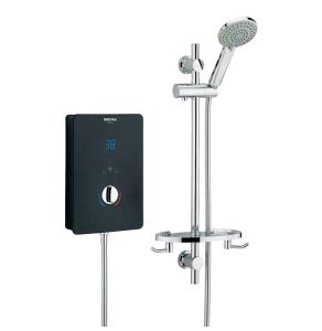 Bristan Designer Bliss Electric Shower, 9.5kw, Black BL395 B