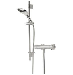 Bristan Designer Claret FastFit Bar Mixer Shower with Shower Kit CLR SHXMTFF C