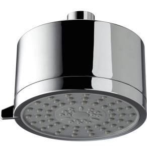 Bristan Mini Multi Function Fixed Shower Head, 110mm Diameter, Chrome FHC CTRD02 C