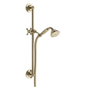 Bristan Traditional Deluxe Shower Kit - Gold TRD KIT01 G