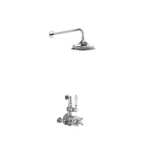 Burlington Avon Dual Exposed Mixer Shower, 6inch Fixed Head BU10672