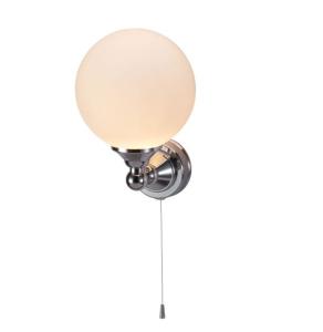 Burlington Edwardian Round LED Light, 245mm High x 160mm Wide, Clear Glass BU10810