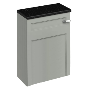 Burlington 60 Fitted Back to Wall WC Unit with Concealed Cistern 600mm Wide, Olive BU10438