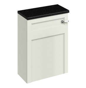 Burlington 60 Fitted Back to Wall WC Unit with Concealed Cistern 600mm Wide, Sand BU10439
