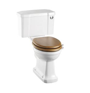 Burlington Regal Close Coupled Toilet Push Button Cistern - Excluding Seat BU10017