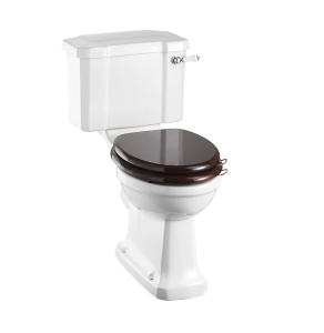 Burlington Regal Close Coupled Toilet Slimline Lever Cistern - Excluding Seat BU10016