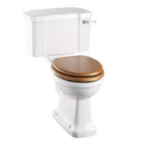Burlington Regal Close Coupled Toilet Deep Ceramic Lever Cistern - Excluding Seat BU10029