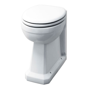 Burlington Regal Back to Wall Toilet 480mm Projection - Excluding Seat BU10001
