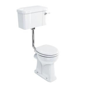 Burlington Regal Low Level Toilet Lever Cistern - Excluding Seat BU10023