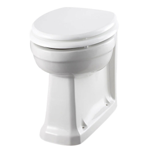 Burlington Standard Back to Wall Toilet 480mm Projection Excluding Seat - P14 BU10000