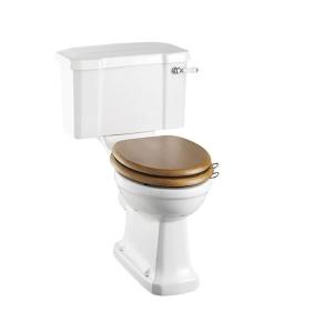 Burlington Standard Close Coupled Toilet Lever Cistern - Excluding Seat BU10002