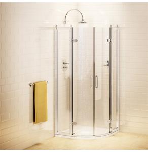 Burlington Traditional Quadrant Shower Enclosure with Tray, 800mm x 800mm, 8mm Glass - C22 + Z1192 BU10742