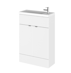 Hudson Reed | Gloss White| 600 Compact Vanity Unit | CBI106 CBI106
