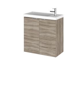 Hudson Reed Fusion Driftwood 500mm Vanity Unit & Basin - CBI238 CBI238