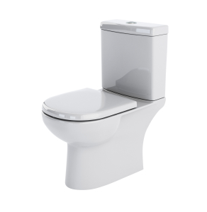 Nuie Lawton White Contemporary Close Coupled WC - CLW002 CLW002
