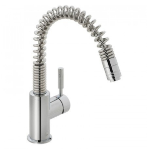 Vado Eli Mono Sink Mixer Single Lever Deck Mounted With Swivel Spout With Pull-Out Spout - Cuc-3001-C/P VADO1788