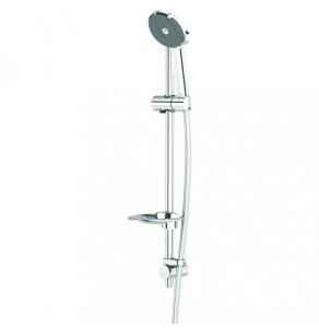 Deva Kiri Satinjet Shower Kit with 1m Rail - Chrome - K1MSK Deva Kiri Satinjet Shower Kit K1MSK 1m Rail - Chrome - K1MSK
