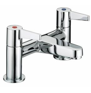Bristan Design Utility Lever Bath Filler Chrome - DUL BF C DUL BF C