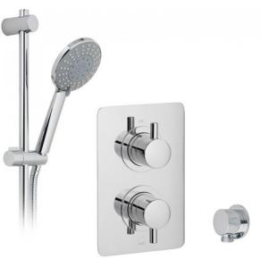 Vado 2 Handle 1 Outlet Concealed Thermostatic Shower Valve Package - Dx-17120-Celsq-Cp VADO1482