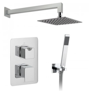 Vado 2 Handle 2 Outlet Concealed Thermostatic Shower Valve Package - Dx-172251-Pha-Cp VADO1477