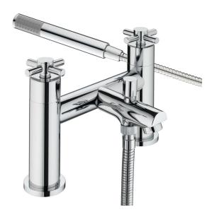 Bristan Decade Bath Shower Mixer Chrome - DX BSM C DX BSM C
