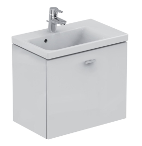 Ideal Standard Concept Space Wall Hung Vanity Unit with RH Basin 700mm Wide in Gloss White - E0317WG + E134201 IS10569