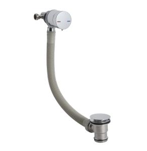 Nuie Wastes & Extras Chrome Contemporary Freeflow Bath Filler - E301 E301