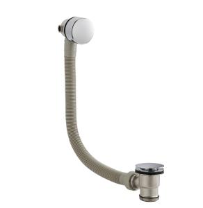 Nuie Wastes & Extras Chrome Contemporary Freeflow Bath Filler - E316 E316