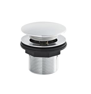 Nuie Wastes & Extras Chrome Contemporary Push Button Bath Waste - E324 E324