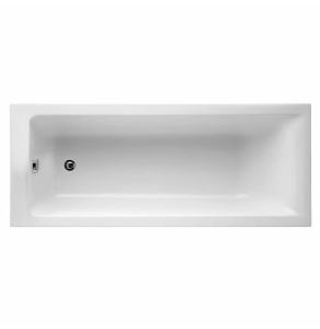 Ideal Standard Concept Single Ended Rectangular Bath 1700mm x 700mm 0 Tap Hole White - E735201 - E735201 IS10318