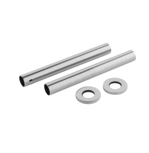 Nuie Chrome Contemporary Decorative Pipes - EA367 EA367