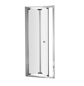 Nuie Ella Bi-Fold Door Satin Chrome Contemporary 760mm - ERBD76 ERBD76