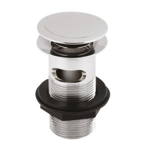 Nuie Wastes & Extras Chrome Contemporary Push Button Basin Waste - ER07 ER07