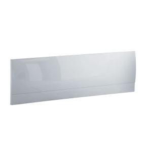 TNS Ocean Front Straight Bath Panel, 1500mm Wide, White EP604