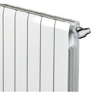 Faral Alliance Aluminium Radiator 430mm H x 500mm W 6 Sections White FA430-6