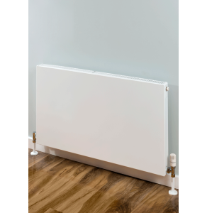 Supplies4Heat Faraday Single Flat Panel Radiator 500mm Height x 1600mm Width White - FARA501611 FARA501611