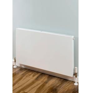 Supplies4Heat Faraday Single Flat Panel Radiator 600mm x 1100mm Width White - FARA601111 FARA601111