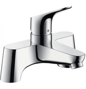 Hansgrohe 2-hole rim-mounted manual single lever bath mixer Low Pressure - 31523000 31523000