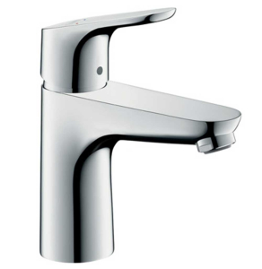 Hansgrohe Focus Chrome 100 Single lever Basin Mixer Tap No Waste - 31517000 31517000