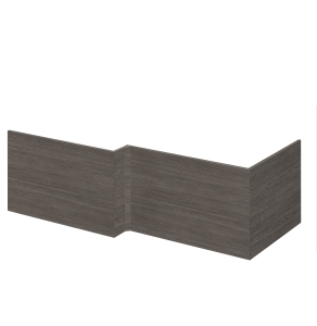 Nuie Athena Brown Grey Avola Contemporary Square Shower Bath End Panel - MPD531 MPD531