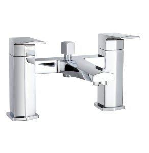 Nuie Hardy Chrome Contemporary Bath Shower Mixer - HDY304 HDY304